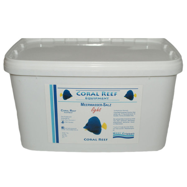 Coral Reef light 7kg Eimer - Salz für Meerwasser Aquarium
